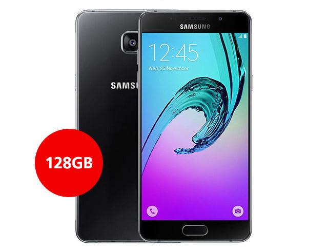 """Εικόνα Smartphone Samsung Galaxy A5 SM-A510F - Οθόνη Full HD 5.2"""" - Οκταπύρηνος επεξεργαστής - 13MP Κάμερα - 2GB RAM / 128GB Αποθηκευτικό Χώρο - Black"""