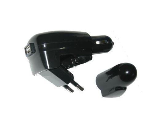Εικόνα Φορτιστής αυτοκινήτου Volte-Tel USB DuoTravel 1500mA VTDU2 - Black