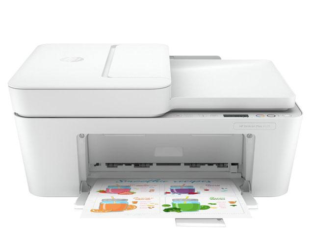 Εικόνα Έγχρωμο Πολυμηχάνημα HP Deskjet Plus 4120 - A4 - Εκτύπωση, Αντιγραφή, Σάρωση, Φαξ - 4800 x 1200 DPI - 5.5ppm - USB 2.0, WiFi - AirPrint