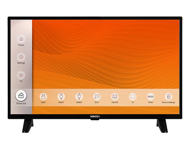 """Εικόνα Τηλεόραση 32"""" Horizon 32HL6300H/B - Ανάλυση HD Ready - Δέκτες DVB-T2 / DVB-S2 / DVB-C"""