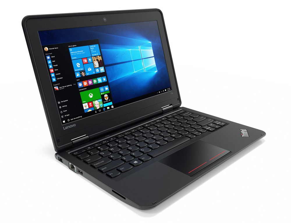 "Εικόνα Lenovo ThinkPad Yoga 11e - Οθόνη αφής 11.6"" - Intel Celeron N3450 - 4GB RAM - 120GB SSD - Webcam - Χωρίς οπτικό δίσκο - Windows 10 Pro"