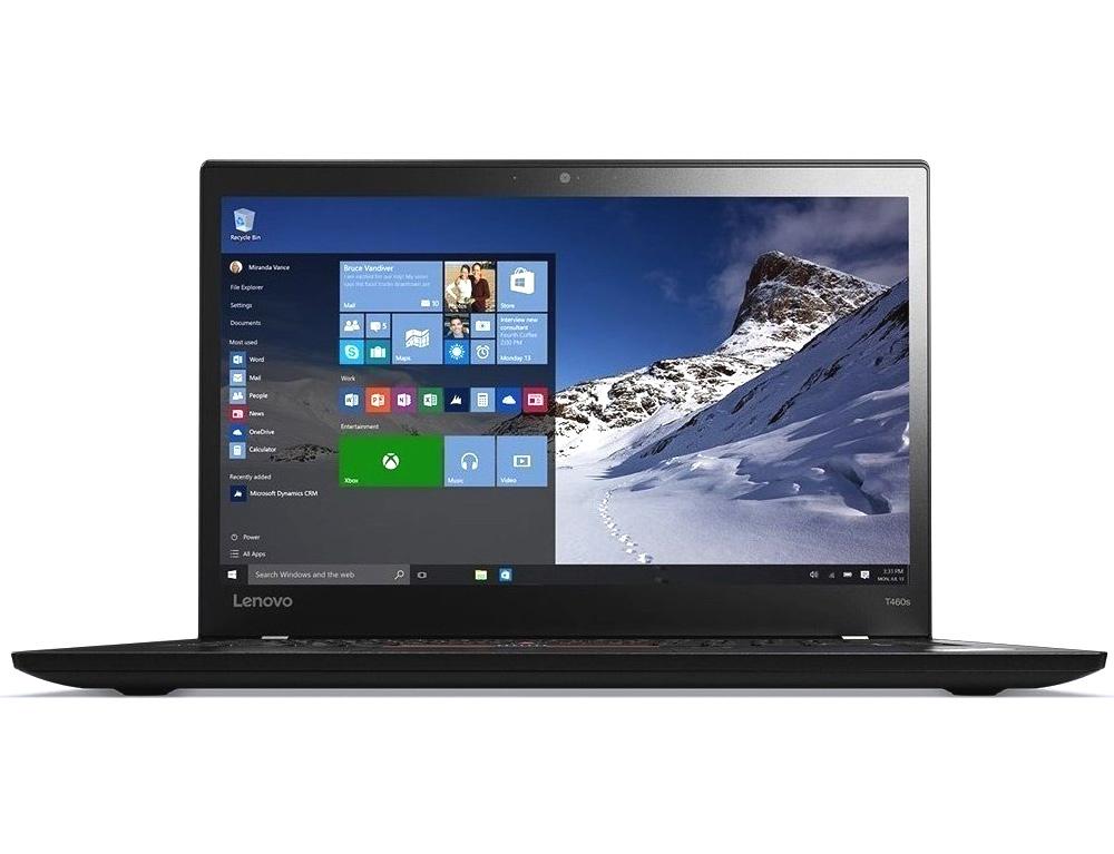 """Εικόνα Lenovo ThinkPad T460s - Οθόνη αφής 14"""" - Intel Core i5 6ης γενιάς - 4GB RAM - 120GB SSD - Χωρίς οπτικό δίσκο - Webcam - Windows 10 Pro"""