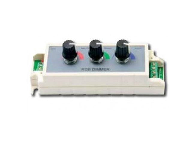 Εικόνα ΤΑΣΗ ΕΙΣ:12-24V DC WALL-LED RGB DIMM 9A