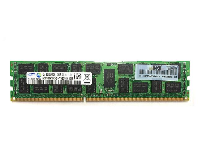 Εικόνα RAM DDR3 ECC REG 8GB PC3L-10600
