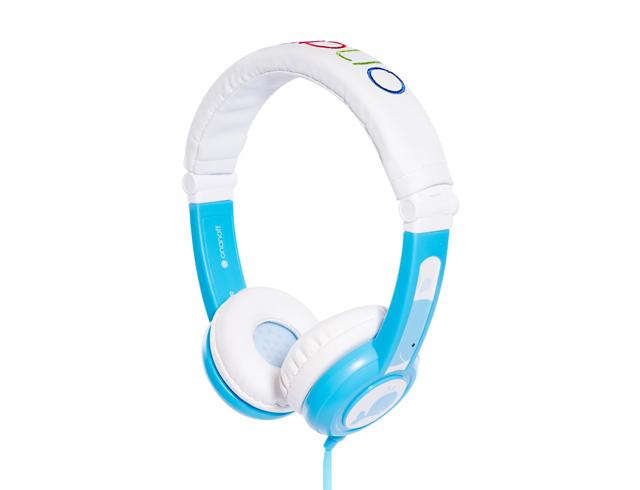 Εικόνα Ακουστικά για παιδιά Onanoff Buddyphones Explore Foldable με μέγιστη ένταση 85dB - Blue
