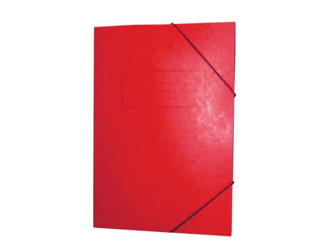 Εικόνα Ντοσίε Prespan με λάστιχο 25x35 - Kόκκινο