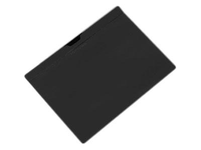 Εικόνα Ντοσιέ PP A4 με κλιπ Black-Red - Μαύρο