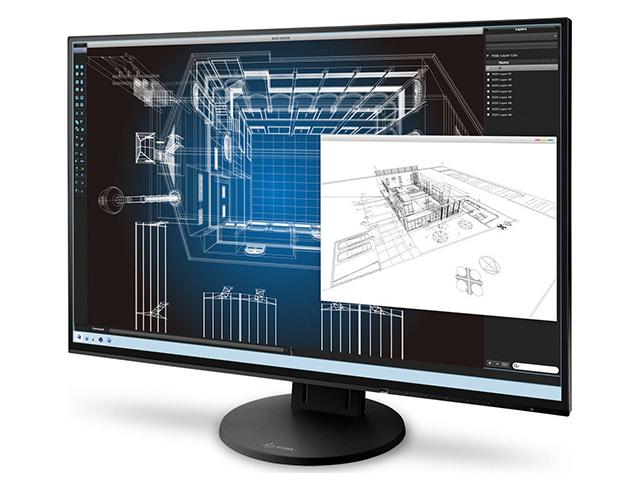 """Εικόνα Monitor 24.1"""" Eizo FlexScan EV2456 - Ανάλυση WUXGA - DVI, DisplayPort, HDMI, VGA"""