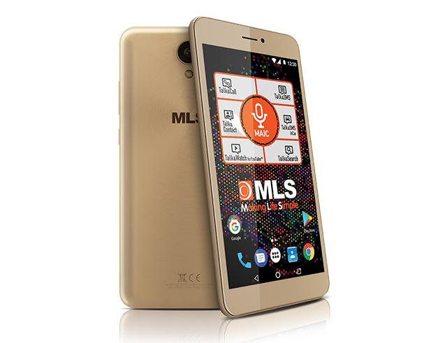 """Εικόνα Smartphone 6"""" MLS PHAB 3G - Champagne"""