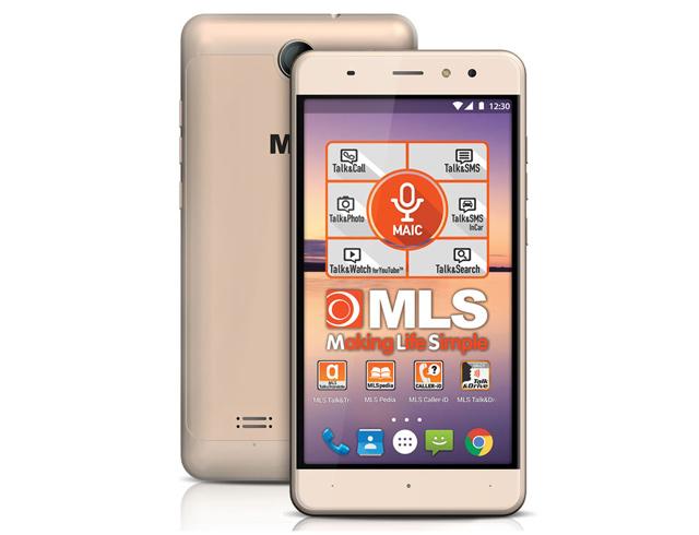 """Εικόνα Smartphone 5.5"""" MLS ALU 3G Dual SIM - Gold"""