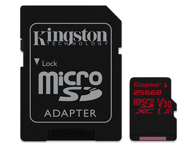 Εικόνα Kingston Canvas React microSDXC 256GB U3 V30 A1 with Adapter