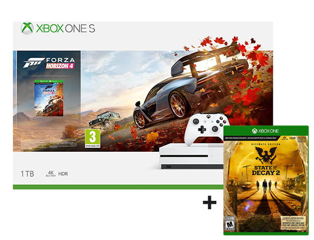 Εικόνα Κονσόλα Microsoft Xbox One S - 1TB (Forza Horizon 4 + State of Decay 2 Ultimate Edition)