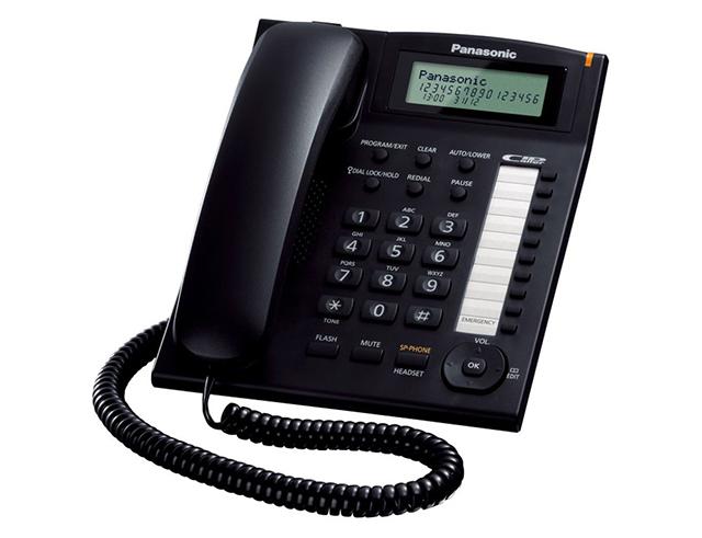 Εικόνα Τηλεφωνική Συσκευή Panasonic KX-TS880EXB black