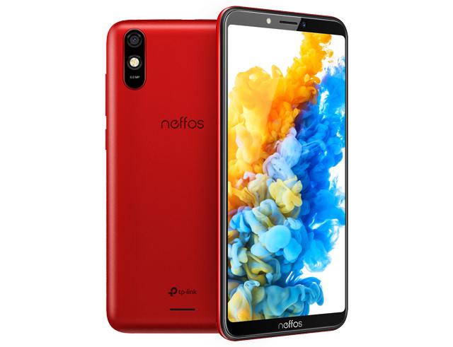 """Εικόνα Smartphone 5.45"""" TP-Link Neffos C7S Dual SIM (16GB) - Red"""