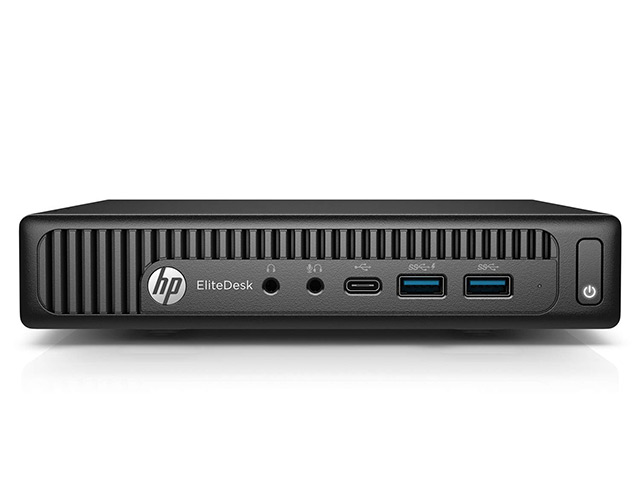 Εικόνα HP EliteDesk 800 G2 Mini PC - Intel Core i5 6ης γενιάς 6400T - 8GB RAM - 240GB SSD - Windows 10 Pro