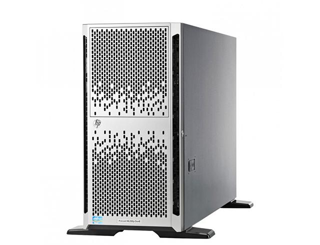 Εικόνα HP server Tower ProLiant ML350p Gen8 - 2 x Intel Xeon E5-2620 Hexa Core - 5 x 300GB SAS 8x SFF drive bays - 64GB RAM - 2x PSU