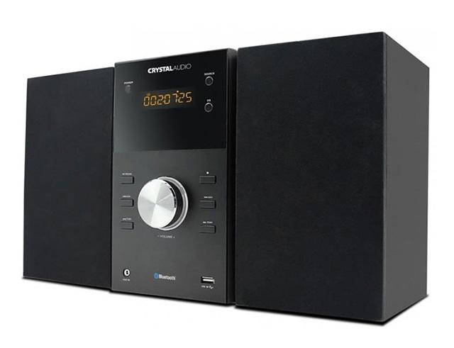 Εικόνα Bluetooth Mini Hi-Fi 2.0 Crystal Audio HBT-1 - 30W - Black