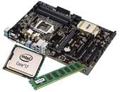 Εικόνα INTEL PROMO KIT3 ΑΠΟΤΕΛΕΙΤΑΙ ΑΠΟ CPU INTEL CORE I7-4790K 4.0GHZ 8MB, MHTPIKH ASUS Z97 ΚΑΙ MNHMH 4GB DDR3 1600 MHZ