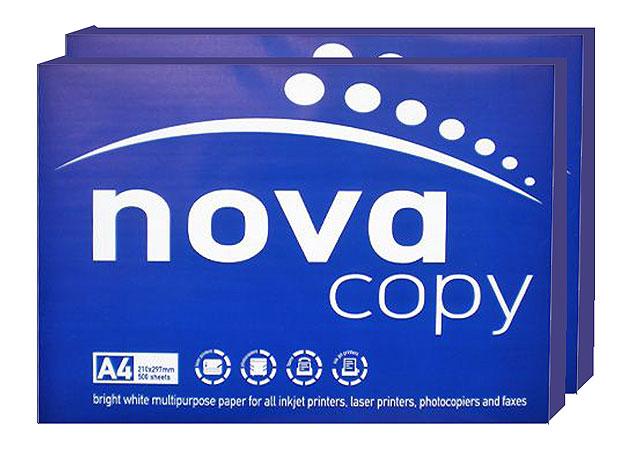 Εικόνα Χαρτί Α4 φωτοτυπικό Nova 500 φύλλα 210x297mm 80gr