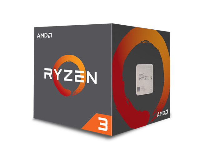 Εικόνα Επεξεργαστής Ryzen 3 1200 (AM4, 3.40GHz, 10MB)