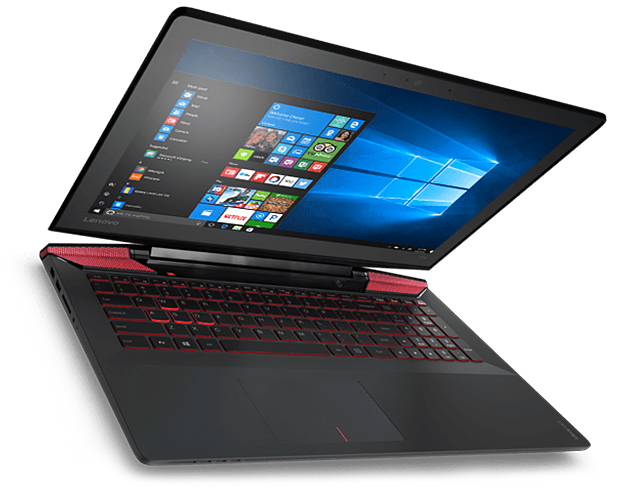 "Εικόνα Lenovo IdeaPad Y700-15ISK - Οθόνη FHD 15.6"" - Intel Core i7 6700HQ - 8GB RAM  - 1TB HDD + 128GB SSD - 4GB VGA - Windows 10"