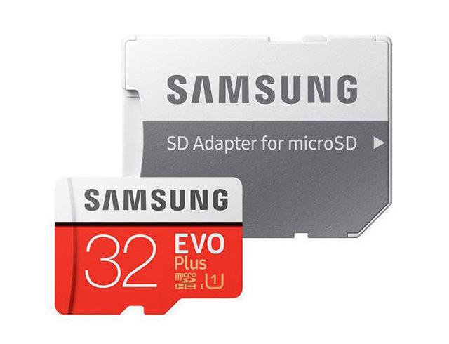 Εικόνα Κάρτα Μνήμης Samsung MicroSDHC EVO Plus U1 32GB Class 10 + adapter