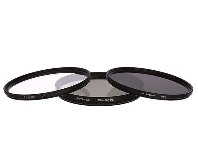 Εικόνα Polaroid Kit UV/CPL/ND8 - Φίλτρα Φωτογραφικής 55mm - 3 τεμάχια