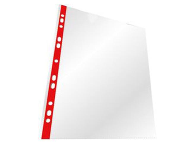 Εικόνα Ζελατίνη με τρύπα κόκκινη ριγέ