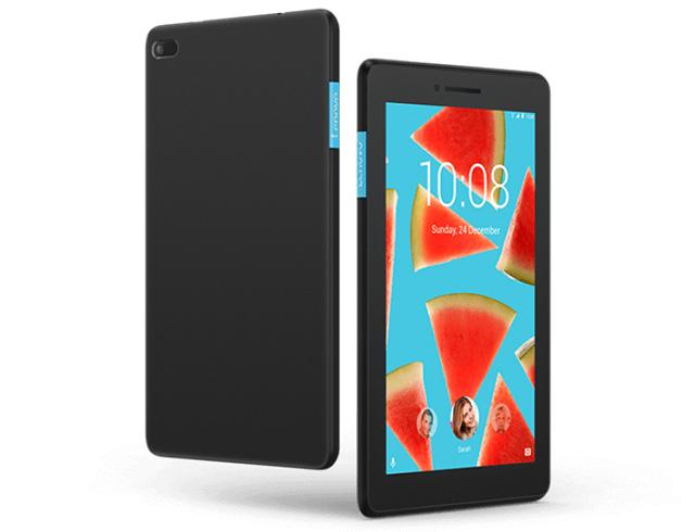 """Εικόνα Tablet 7"""" Lenovo Tab E7 (7104) - 8 GB - Black"""