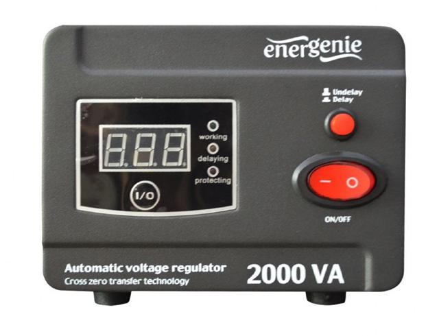 Εικόνα UPS Energenie AVR and Stabilizer Digital Series 2000VA
