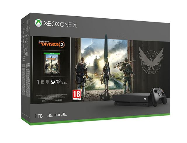Εικόνα Κονσόλα Microsoft Xbox One Χ - 1TB Tom Clancy's The Division 2