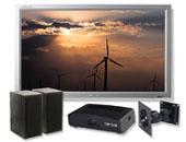 """Εικόνα Οθόνη 40"""" Refurbish Samsung 400PX 1366x768, Με Βάση Στήριξης Τοίχου, Ψηφιακό Αποκωδικοποιητή και Ηχεία 2.0"""