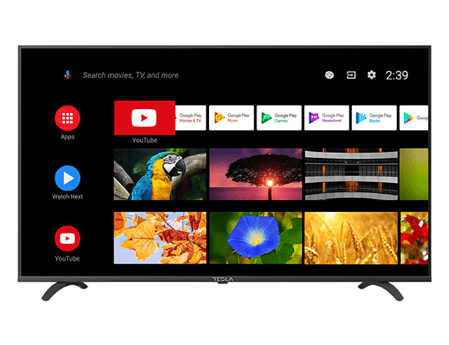 "Εικόνα Smart TV 32"" Tesla 32S605BHS - Ανάλυση HD - Android TV 9 - Ethernet, WiFi, Bluetooth - Δέκτες DVB-T2 /  DVB-S2 / DVB-C"