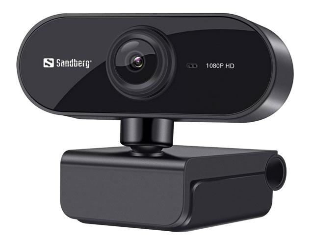 Εικόνα Webcam Sandberg Flex 133-97 - Ανάλυση Full HD - USB