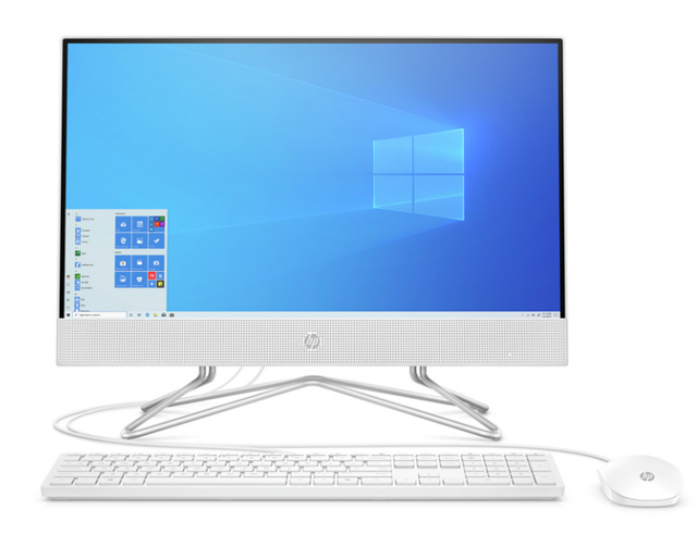 "Εικόνα All in One HP 22-df0009nv - Οθόνη Full HD 21.5"" - Intel Core i3-1005G1 - 4GB RAM - 1TB HDD + 128GB SSD - Windows 10 Home"