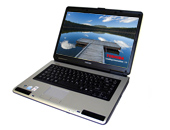 Εικόνα NOTEBOOK TOSHIBA L40 ΜΕ CELERON 540, 80GB HDD ΚΑΙ WINDOWS VISTA BASIC (PAINTED BLACK)
