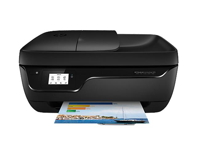 Εικόνα Έγχρωμο Πολυμηχάνημα HP DeskJet Ink Advantage 3835 - A4 - Εκτύπωση, Αντιγραφή, Σάρωση, FAX - 4.800 x 1.200 dpi - 6 ppm - USB 2.0/WiFi - Apple AirPrint, HP ePrint