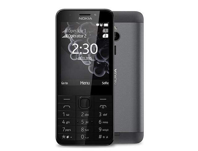 Εικόνα Κινητό απλής χρήσης Nokia 230 Dual SIM - Dark Silver