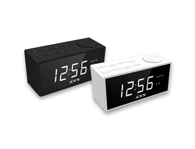 Εικόνα CLOCKRADIO PLL FM LENCO ICR - 240 WHITE