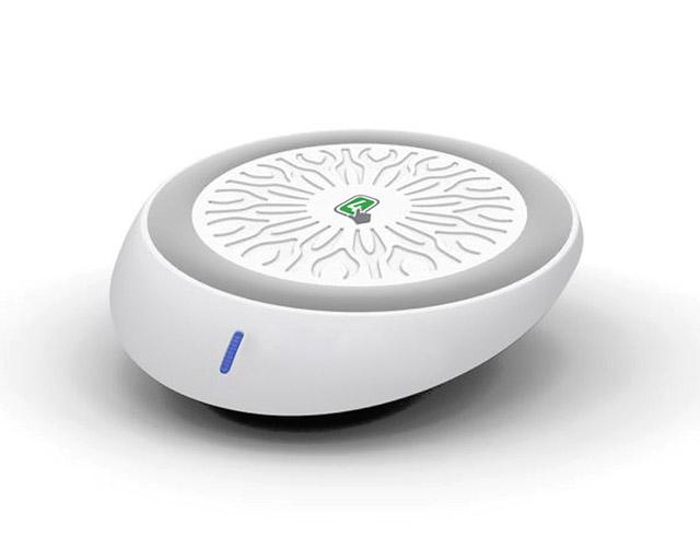Εικόνα 4Smarts Wireless Charging Pad (Qi) Λευκό-Γκρί (4SP2233)