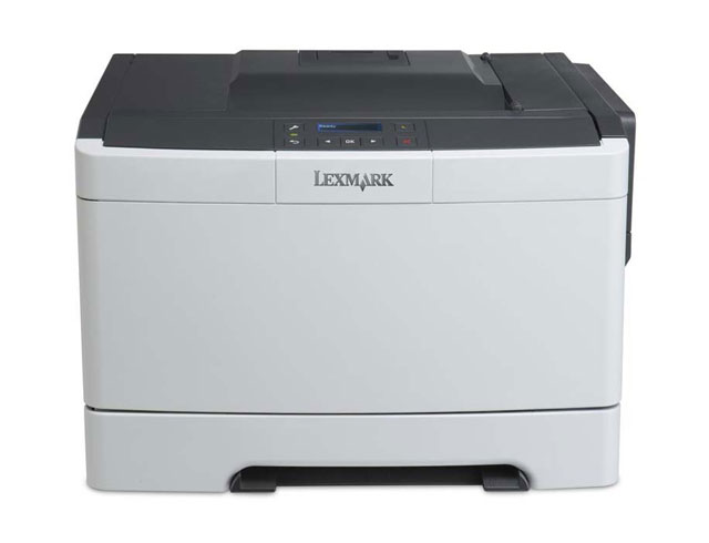 Εικόνα Εκτυπωτής Laser Color Lexmark CS317dn - Ποιότητα εκτύπωσης 1200 x 1200 dpi - Ταχύτητα εκτύπωσης 23 ppm - USB / Ethernet