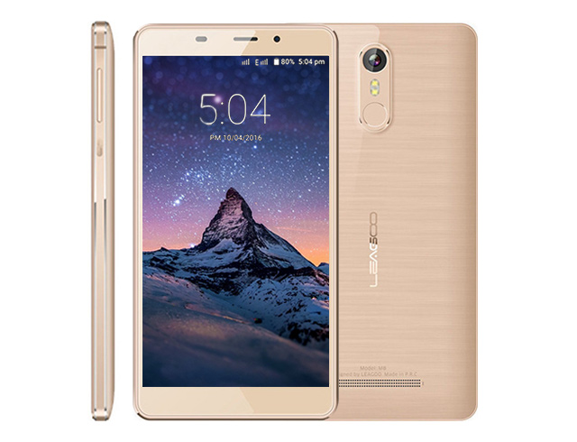 "Εικόνα Smartphone Leagoo M8 5.7"" (16GB) - Gold"