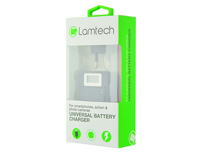 Εικόνα Universal Battery Charger Lamtech LAM063067