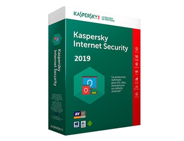 Εικόνα Kaspersky Internet Security Multi Device 2019 - 3 Users - 1 Year (Box)