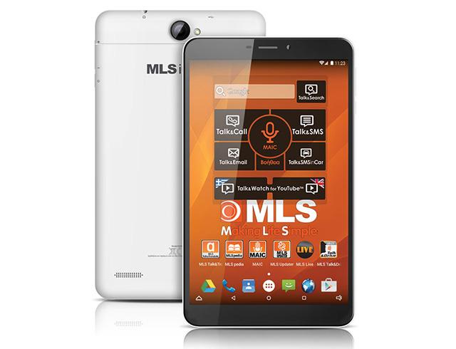 """Εικόνα MLS IQTab Care 8"""" με δίκτυο 3G (16GB) - White"""