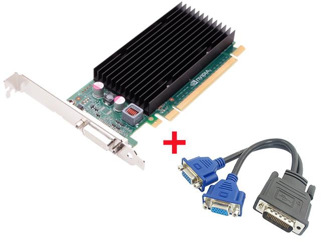 Εικόνα Κάρτα γραφικών Nvidia Quadro NVS300 512MB PCI-E με Έξοδο DMS 59 για σύνδεση 2 οθονών
