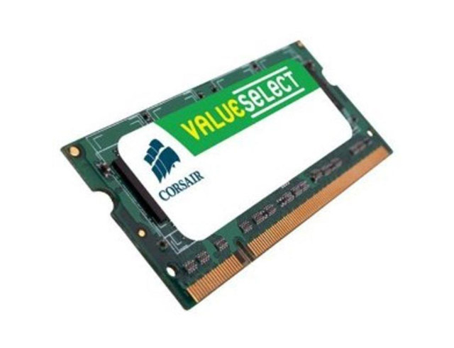 Εικόνα NOTEBOOK RAM CORSAIR DDR 512MB 400MHz