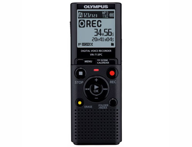 Εικόνα VOICE RECORDER OLYMPUS VN-713PC BLACK