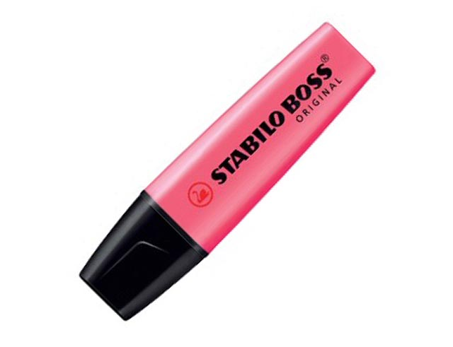 Εικόνα Μαρκαδόρος υπογράμμισης Stabilo Boss - Pink