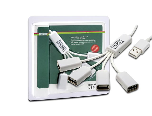 Εικόνα HUB USB 4-Port DA-70216 Χ.ΤΡΟΦΟΔΟΤΙΚΟ